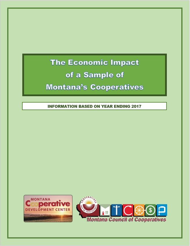 2018 ECONOMIC IMPACT REPORT OF MONTANA'S COOPERATIVES